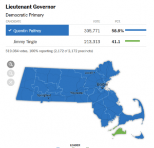 Lt. Governor Race in MA